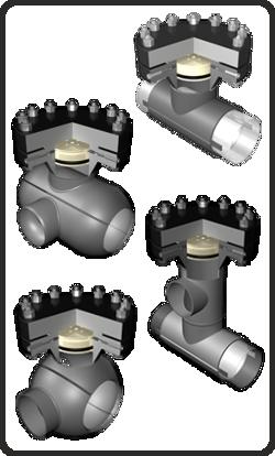 Poza cu T-uri de perforare sub presiune (egale, reduse, cu 2 sau 3 cai, sferice)