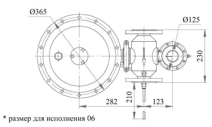 Poza cu Регулятор давления комбинированный РДК-50